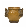 Exceptionally Beautiful Italia Planter, Brown, Gray