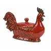 Exceptionally Beautiful Parker Large Lidded Dish, Red