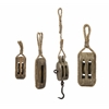 Nautical Wooden Pulley - Set of 4