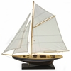 Timeless Beauty Medium Sailboat, Brown, White