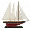 Stunningly Appealing Large Sailboat, Brown, White