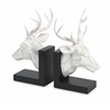 Artistically Designed Set of 2 Joseph Deer Bookends