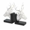 Artistically Designed Set of 2 Joseph Deer Bookends