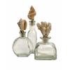 Classy Styled Shell Stopper Glass Bottles - Set of 3
