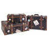 Labeled Suitcases - Set of 3