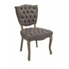 Durable Addison Tufted Occasional Chair, Taupe & natural