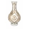 Carmina Oversized Etched Glass Vase