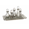 Macaire Mini Bottles with Tray - Set of 6