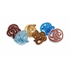 Fascinating Styled Glass Rope Knots - Set of 6