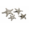 Cortland Silver Star Fish - Set of 4