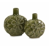 Poslie Dimensional Ceramic Flower Vases - Set of 3
