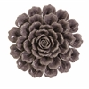 Marvelous Magdalyn Purple Ceramic Wall Flower, Shades Of Purple