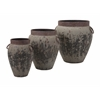 Brilliant Argetile Rustic Planters - Set of 3