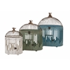 Customary Styled Elaine Bird Houses - Set of 3