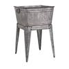 Adorable Perryman Galvanized Tub on Stand