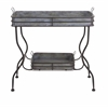 Durable Maggie Galvanized Tray Table