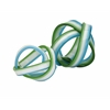 Set of 2 Chic Cambria Glass Knot