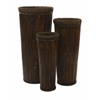 Set of 3 Wonderful Langham Tall Willow Planters