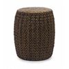 Adorable Veneta Woven Ottoman, Shades Of Brown