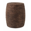 Splendid Camotes Seagrass Ottoman, Shades Of Brown