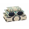 Timelessly Beautiful Set of 3 Hadley Book Boxes