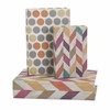 Confetti Book Boxes - Set of 3