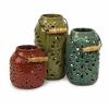 Gorgeous Set of 3 Luna Ceramic Lanterns