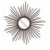 Bold Berrak Starburst Mirror, Bronze