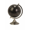 Spectacular Moonlight Globe with Nickel Finish Stand, Shades Of Black