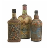 Vintage Designer Set of 3 Circus Bottles
