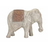 Exclusive Dido Large Elephant, Grey and copper