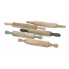 Trendy Hennie Wood Rolling Pins, Natural, Set Of 5