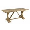Vivacious Hanway Trestle Table, Natural