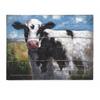 Alluring Ella Elaine Lester Cow Oil Painting