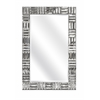 Classy Loxias Wall Mirror, Silver
