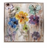 Classy Maizon Floral Framed Oil Painting