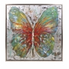 Artistic Tenley Butterfly Framed Oil Painting