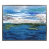 Exceptional Circadian Framed Oil Painting, Multicolor