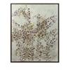 Adorable Botanical Wisdom Framed Oil Painting, Natural