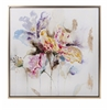Excellent Delicate Framed Oil Painting, Multicolored