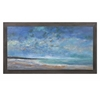 Classic Sea of Dreams Wood Framed Oil Painting, Multicolored