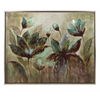 Chic Fragrant Bloom Framed Oil Painting, Multicolored