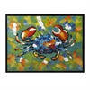 Crabby Framed Oil Painting, Multicolor