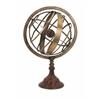 Innovative Beth Kushnick Armillary Globe, Oxidized Bronze