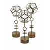Creatively Styled Set of 3 Jada Terrarium Stands