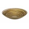 Multipurpose Tiffany Glass Bowl, Rustic Golden