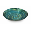 Wonderful & Unique Aria Glass Bowl, Green and Blues