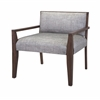 Enticing Bailee Occasional Chair, Brown & Grey