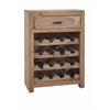 Alluring Cade Wine Storage Cabinet, Natural Wood