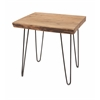 Durable Crispin Acacia Wood Side Table, Natural